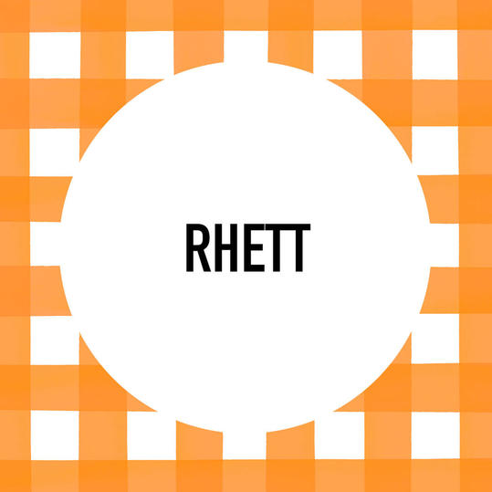 Southern Pet Name: Rhett