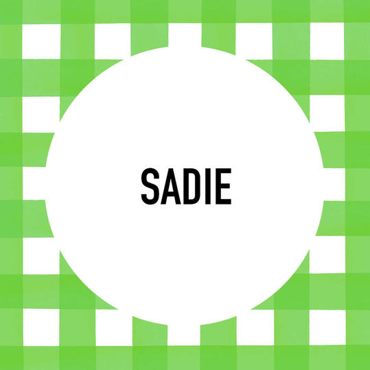 Southern Pet Name: Sadie