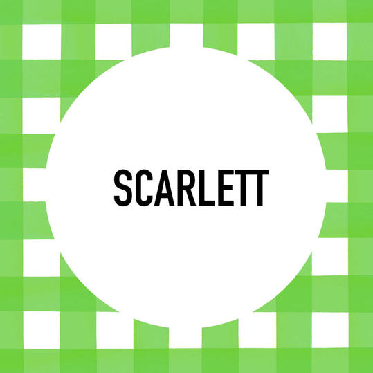 Southern Pet Name: Scarlett