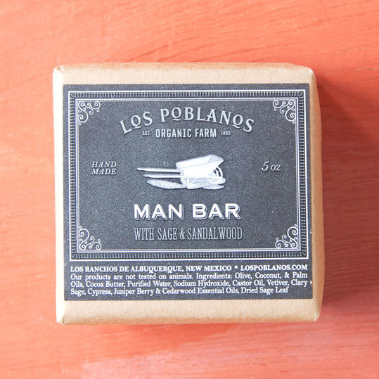 Father's Day Terrain Los Poblanos Man Soap Image