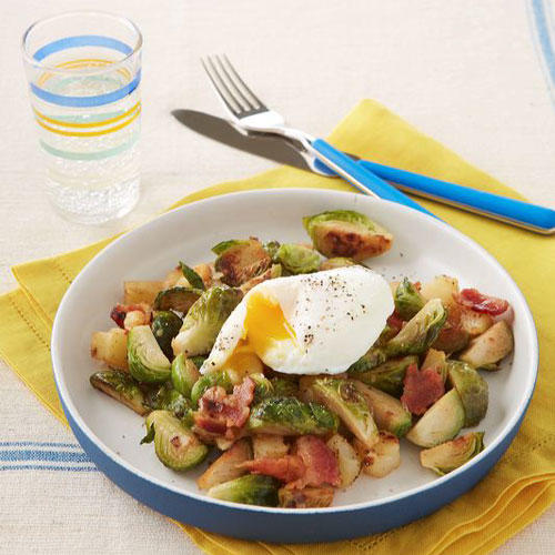 brussels sprout and bacon hash recipe