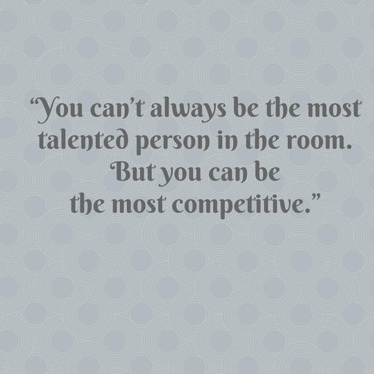 Pat Summitt on Being Competitive