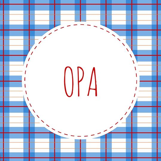 Grandfather Name: Opa