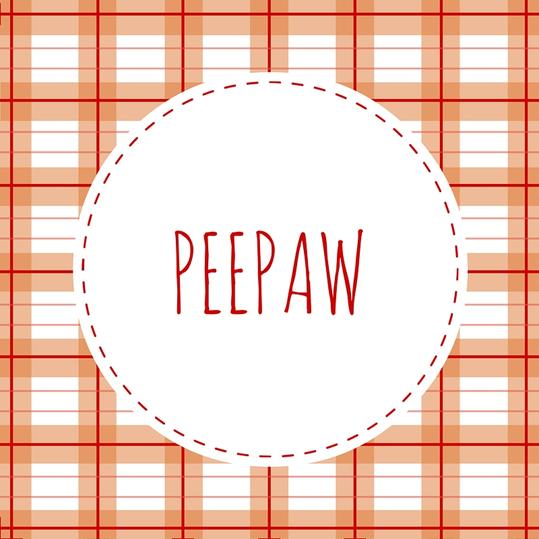 Grandfather Name: Peepaw