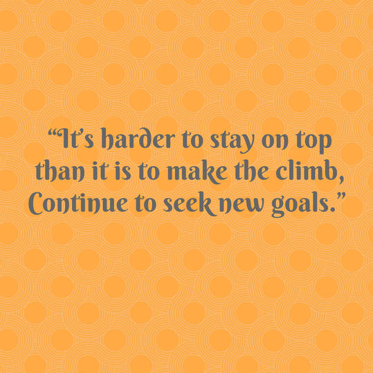 Pat Summitt on Setting New Goals