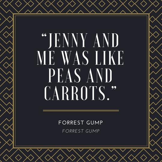 Forrest Gump Jenny Quote