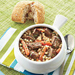 Slow-Cooker Savory Lamb Stew