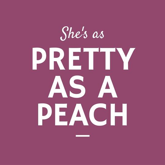 Pretty as a Peach