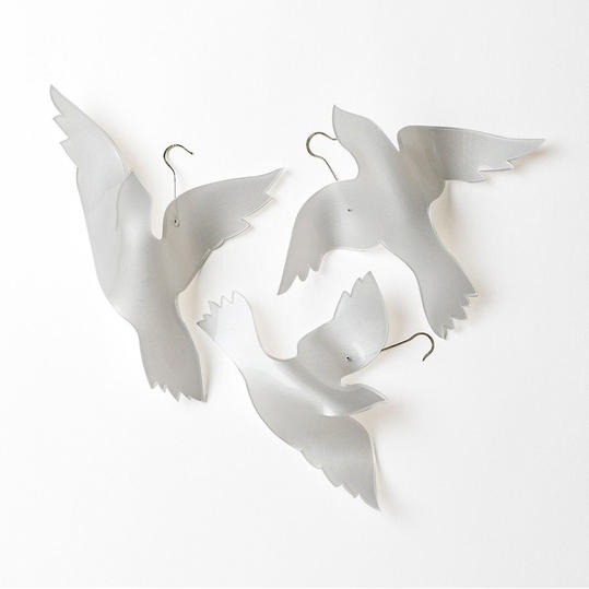 Thanksgiving Hostess Gift Trio of Small Doves