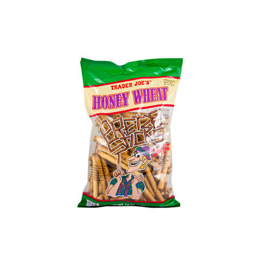 Honey Wheat Pretzel Sticks