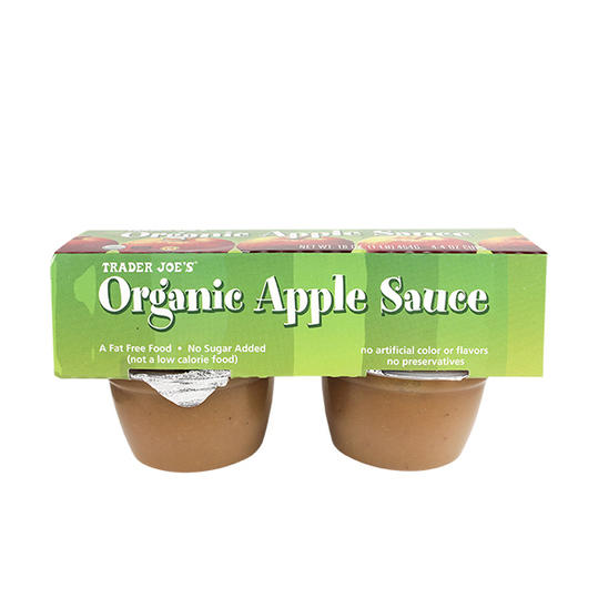 Organic Apple Sauce Trader Joe's