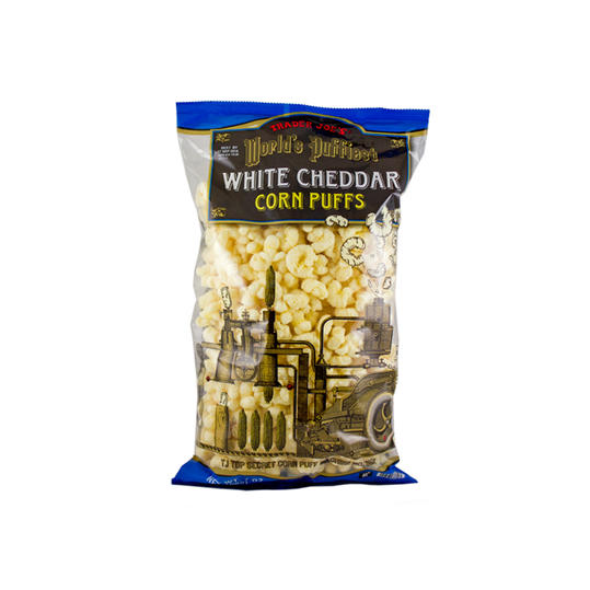 White Cheddar Corn Puffs