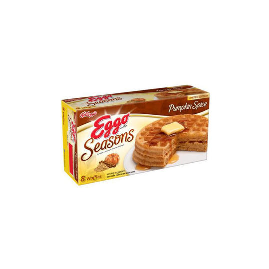 Kellogg's Eggo Seasons Limited Edition Pumpkin Spice Waffles