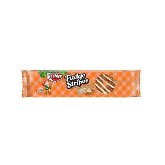 Keebler Fudge Stripes Pumpkin Spice Cookies