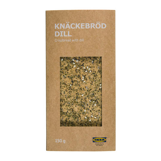 Crispbread with Dill from Ikea