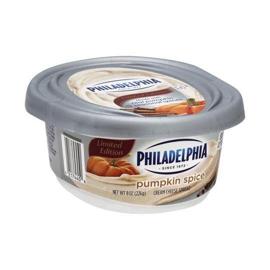 Philadelphia Pumpkin Spice Cream Cheese Spread