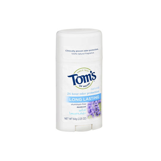 RX_1610 Tom's of Maine Natural Long Lasting Natural Deodorant, Lavender