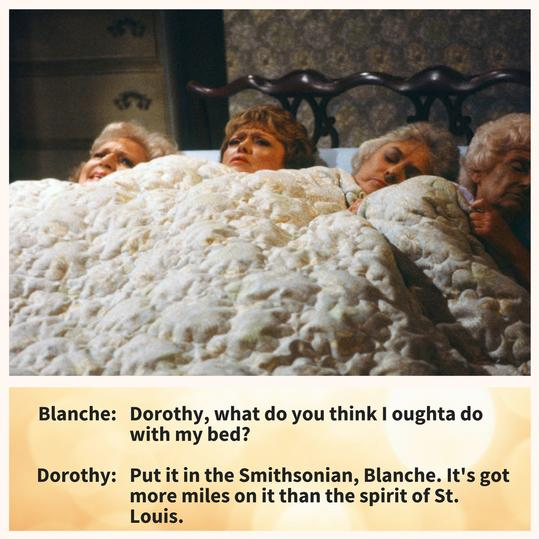 Golden Girls Bed