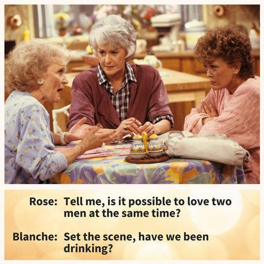 Golden Girls Love Men