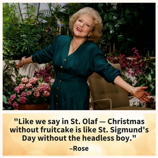 Golden Girls Rose Christmas
