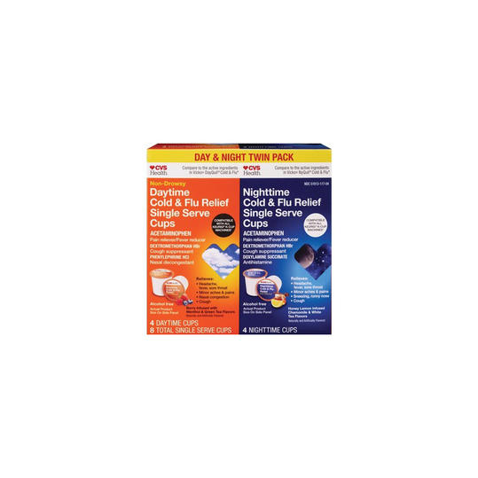 CVS Health Day & Night Combo Cold Flu