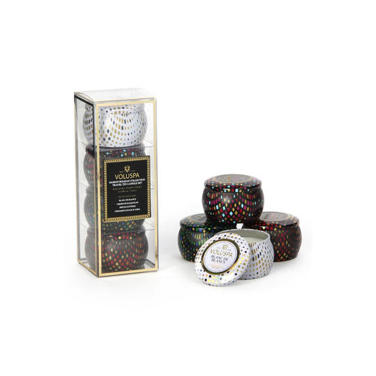 Voluspa 'Maison Holiday' Travel Tin Candles