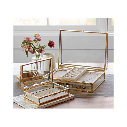 Antique Gold Jewelry Boxes