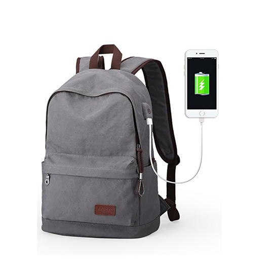 Canvas Charging Backpack
