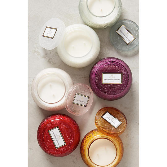 Voluspa Cut Glass Candle