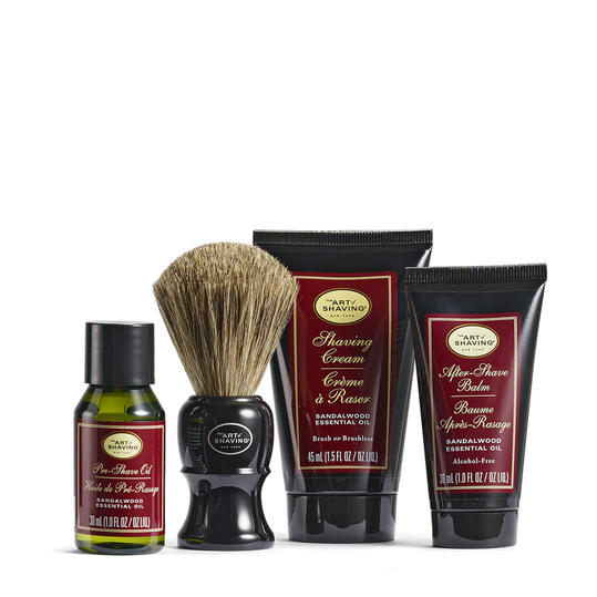 Sandalwood Mid Size Shaving Kit