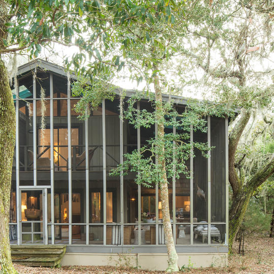 Two Story Screened Porch