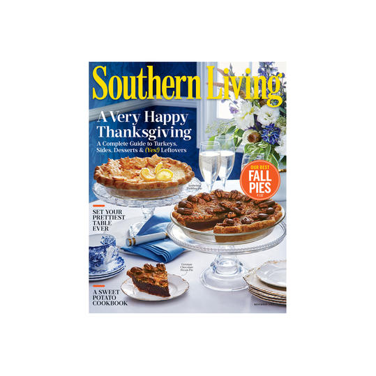 Southern Living November 2016 Cover