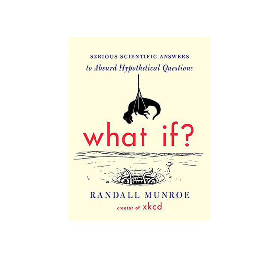 What If?: Serious Scientific Answers to Absurd Hypothetical Questions by Randall Monroe