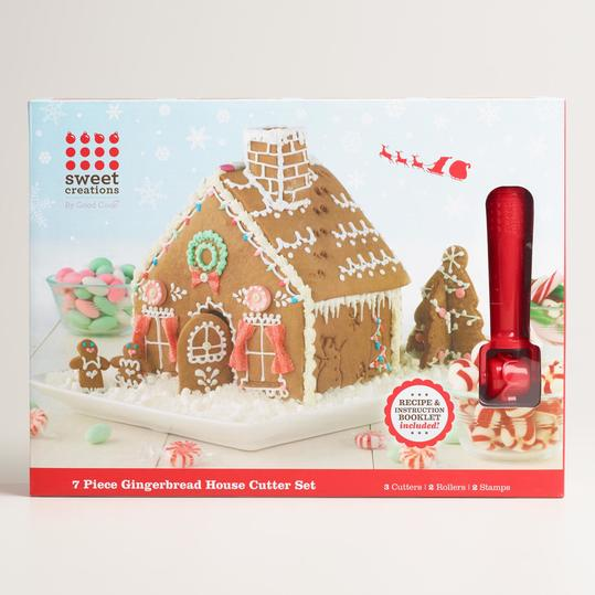 Mini 3-D Gingerbread House Cookie Cutter
