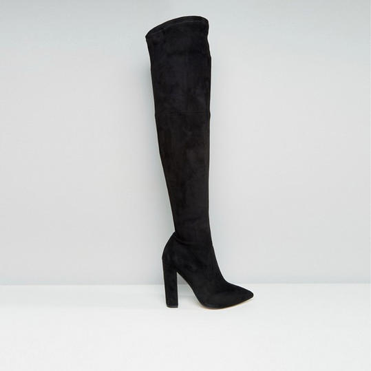 ASOS Karmen Wide Fit Pointed Over the Knee Boots