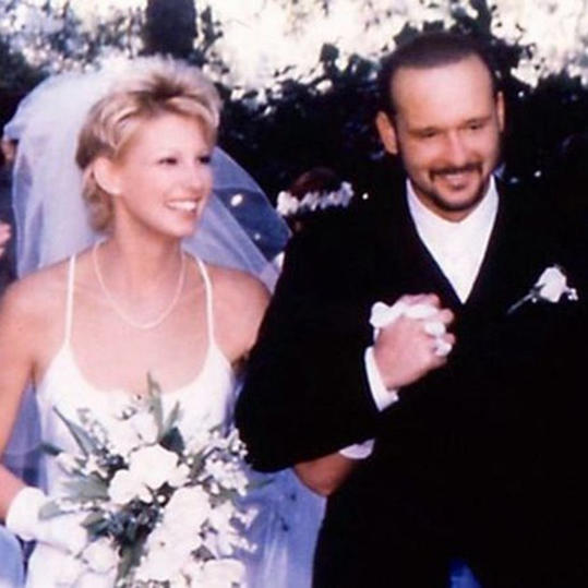 17 iconic southern wedding dresses southern living for How old are faith hill s daughters