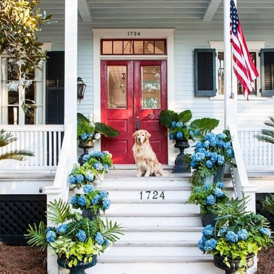 A Front Porch With a Few of our Favorite Things