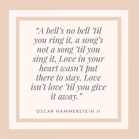 50 most popular quotes for wedding invitations southern living oscar hammerstein ii quote stopboris Gallery