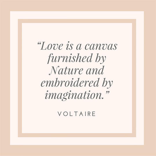 Voltaire on Love's Canvas