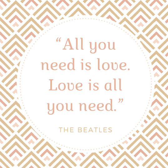 Beatles Quotes Love Delectable 50 Most Popular Quotes For Wedding Invitations  Southern Living