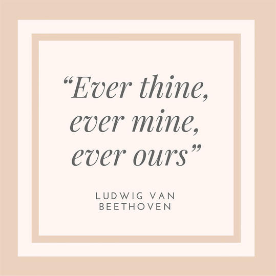 Beethoven on Sharing Love