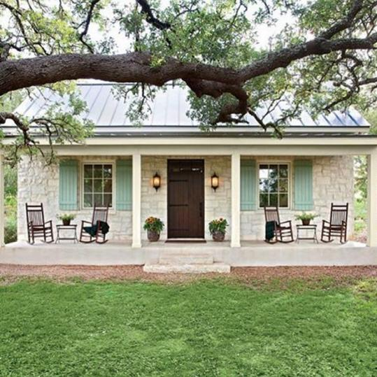Our Best Instagrams stone front porch