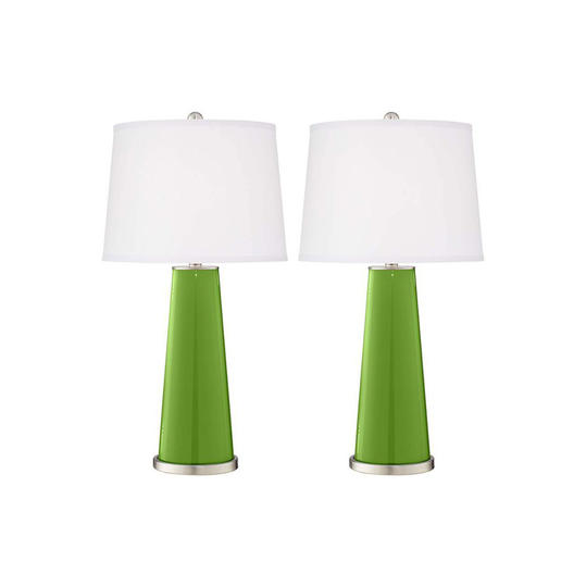 Lamps Plus Leo Table Lamps