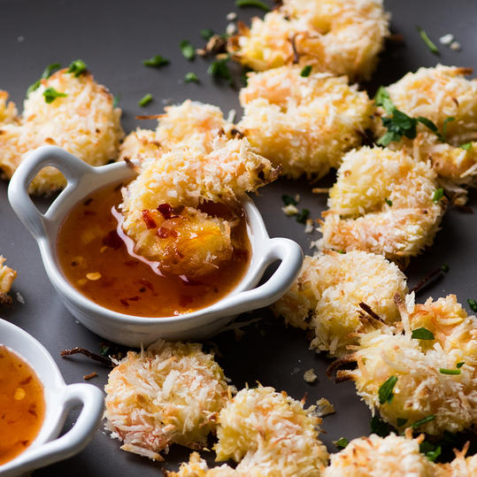 Baked Shrimp Coconut