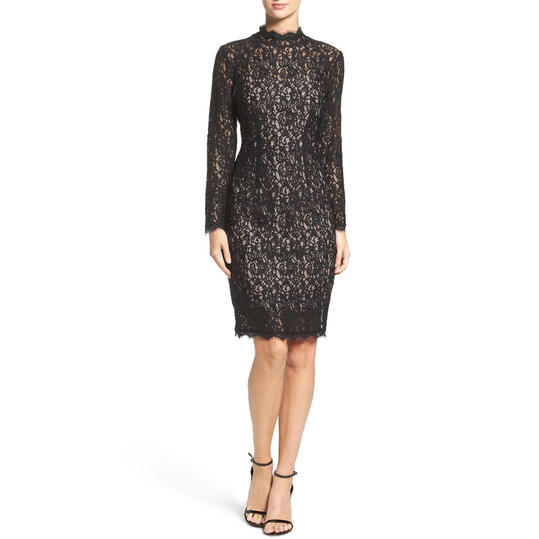 Lace evening dresses with sleeves uk basketball