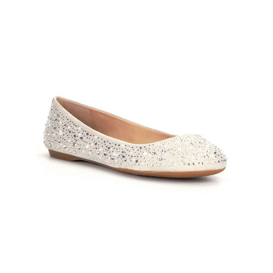 Southern Living Ivory Ballet Flats Wedding Shoes