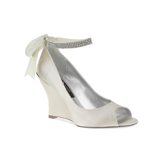 Southern Living Ivory Emma Nina Wedding Shoes