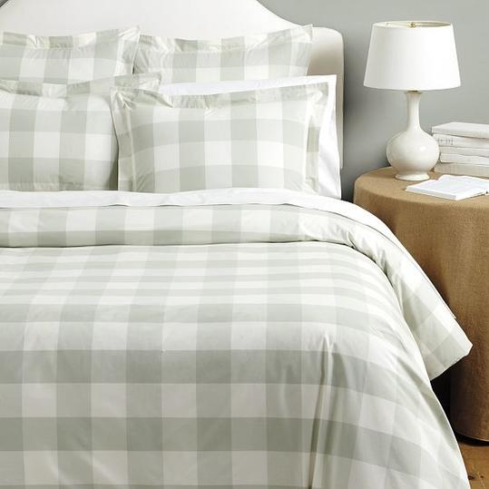 Ballard Designs Gwyneth Buffalo Check Duvet Cover