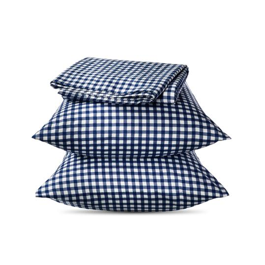 Elite Home Gingham Sheet Set