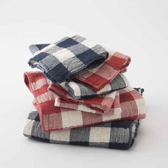 Schoolhouse Electric Supply & Co. Vintage Check Towels